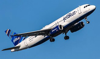 JetBlue - Blue and White