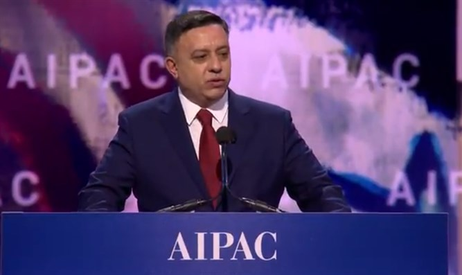 Avi Gabbay at AIPAC 2018