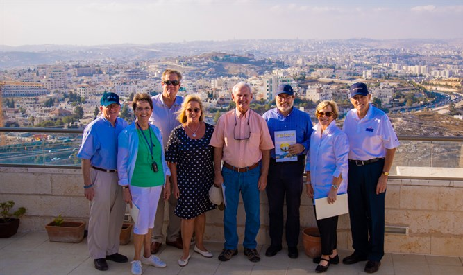 The Congressional delegation in Israel
