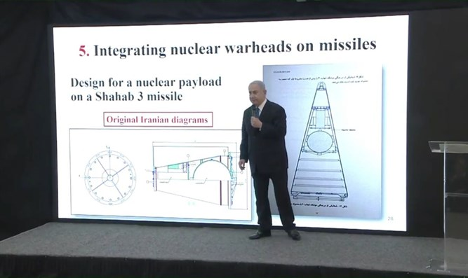 Netanyahu reveals Iranian nuclear program